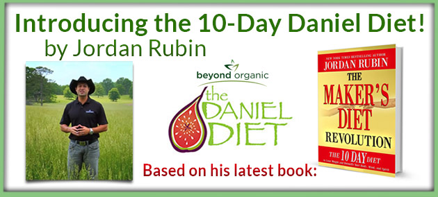 10 Day Daniel Diet by Jordan Rubin
